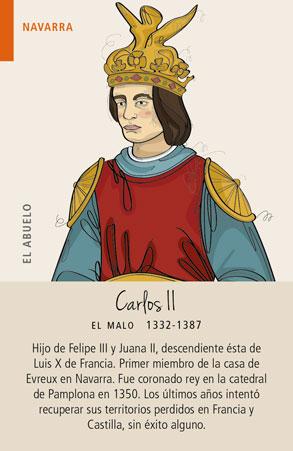 Carlos II de la Casa de Evreux en Navarra
