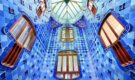 Foto de la Casa Batlló de la ciudad de Barcelona