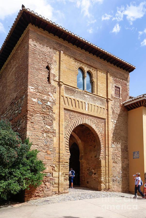 Foto de la Alhambra de la ciudad de Granada en Andalucía
