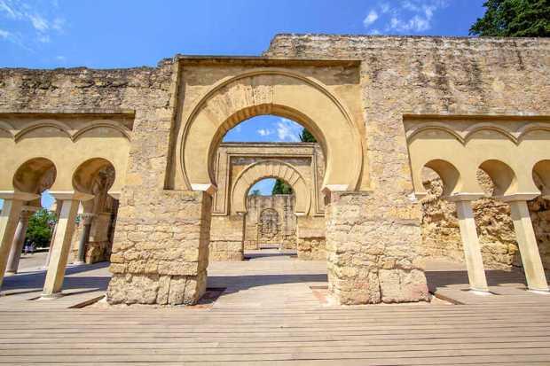 Foto de Medina Azahara en la Ciudad de Córdoba en Andalucía