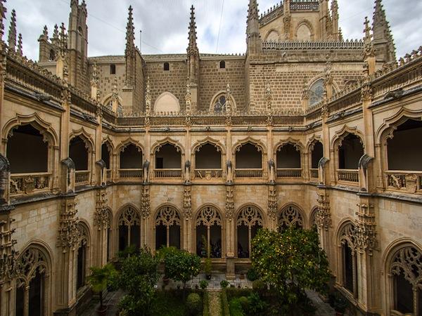 Foto del Monasterio San Juan de los Reyes de la ciudad de Toledo en Castilla-La Mancha