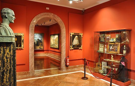 Foto del Museo Julio Romero de Torres de la Ciudad de Córdoba en Andalucía