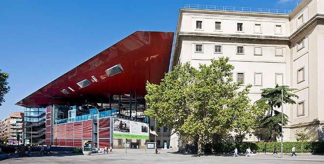 museo reina sofia en la ciudad de madrid