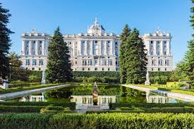 Foto del Palacio Real de la ciuada de Madrid