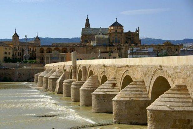 Foto del Puente Romano de la Ciudad de Córdoba en Andalucía