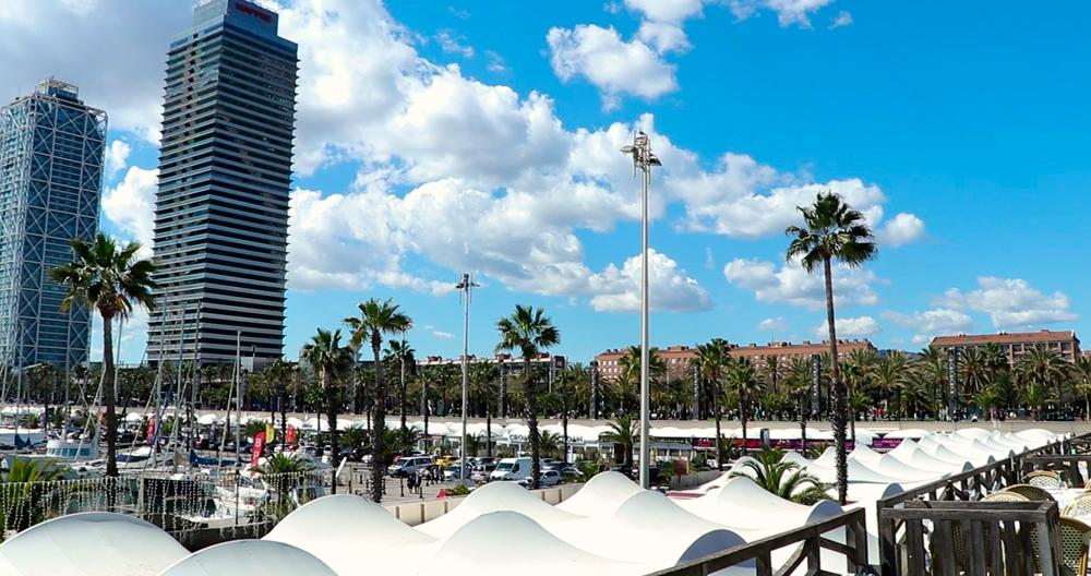 Foto del Puerto Olímpico de la ciudad de Barcelona