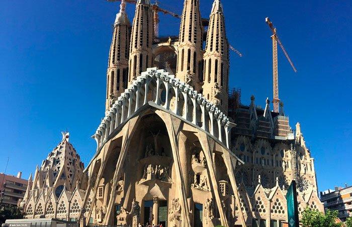 Foto de la Catedral de la Sagrada Familia de la ciudad de Barcelona