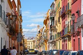 Foto del Barrio de Triana en la ciudad de Sevilla