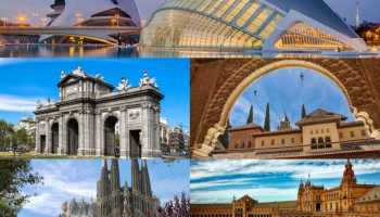 Viaja a las ciudades más bonitas de España