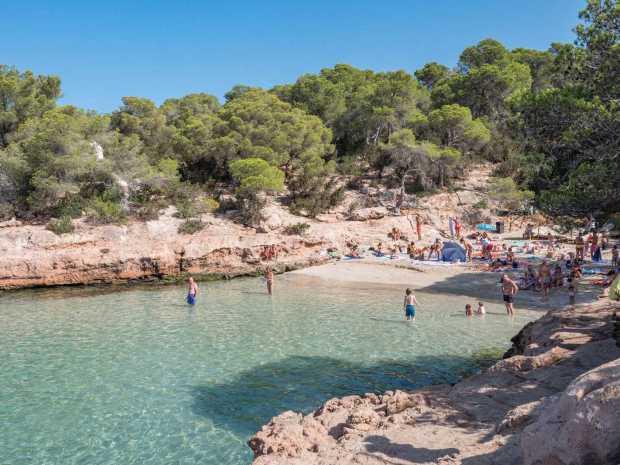 Cala Gracioneta en Ibiza