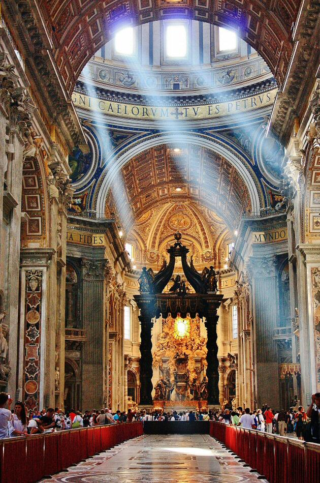 Interior del Vaticano