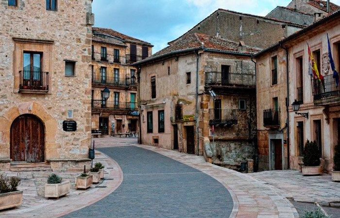 Calles de la Villa de Sepulveda