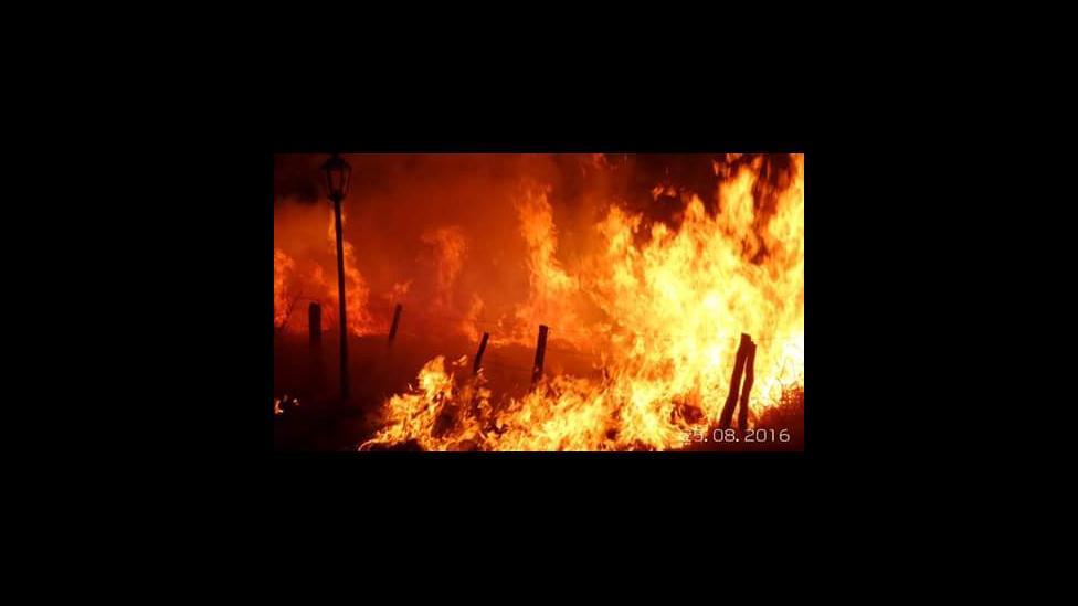 Se nos estan quemando los bosques y las casas en san luis!! En suyuque! Necesitamos ayuda!! Hace 2 semanas que estamos asi!