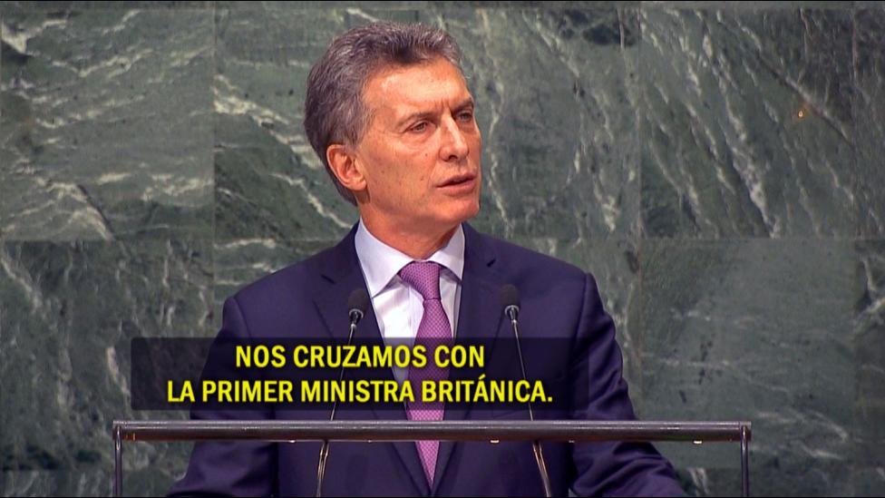El revelador diálogo de Macri con los periodistas en la ONU