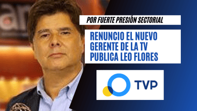 Photo of Escándalo de los bolsos: Renunció el nuevo titular de la TV Publica.