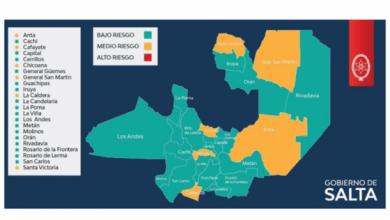 Photo of Covid-19| Son 17 los departamentos con riesgo bajo de contagios en la Provincia