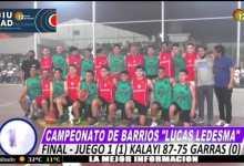 """Photo of Basquet   Primera final de los barrios para """"Kalayi"""""""