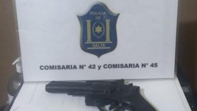 Photo of Un detenido con arma de juguete