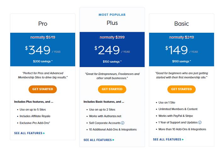 precios de memberpress
