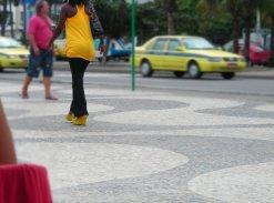 El calçadão de Copacabana. 2009