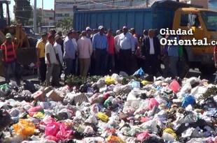 Operativo de limpieza en SDE encabezado por el alcalde Alfredo Martínez