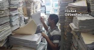 Este es el archivo de expedienets del Palaciod e Justicia de la Provincia Santo Domingo