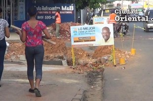 Peatones expuestos al peligro por el Ayuntamiento