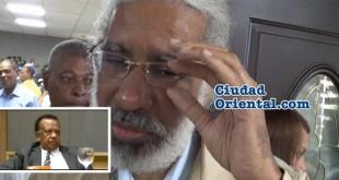 Juan Hubieres en el funeral del regidor Catalino Sánchez