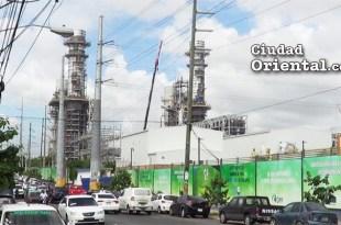 Vista parcial de las plantas de la DPP en Los Mina
