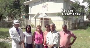 Comunitarios rechazan iglesia católica se apodere de una parte del área verde colectiva en MATRISA