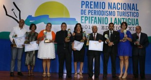 Ganadores Premio Nacional de Pweriodismo Epifanio Lantigua