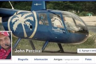 Foto de perfil del muro de FaceBook de John Pércival
