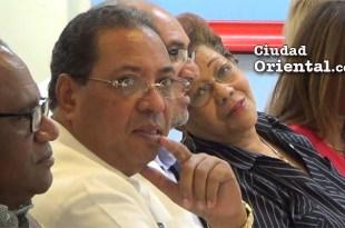 Juio César Terrero Carvajal, segundo desde la izquierda, en un acto oficial del ASDE el 13 de Diciembre de 2016