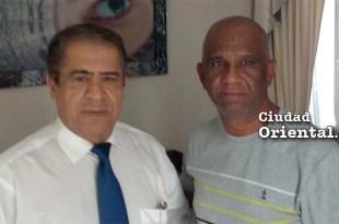 Pércival Peña y Robert Vargas