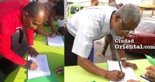 Ciudadanos firman el libro verde contra corrupción y por el fin de la impunidad