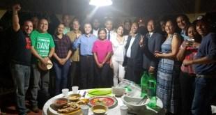 Integrantes d e la Coalición contra la Impunidad en Santo Domingo Este