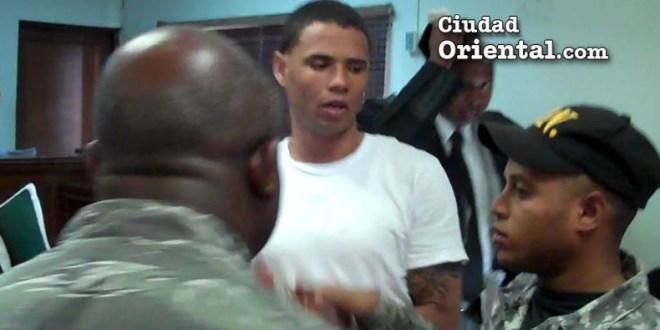 El condenado Jonatan Samuel de la Cruz, luego de dictada la sentencia