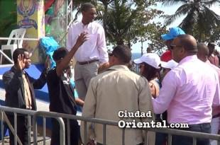 Luis Henríquez y su familia impedidos de entrar al área VIP