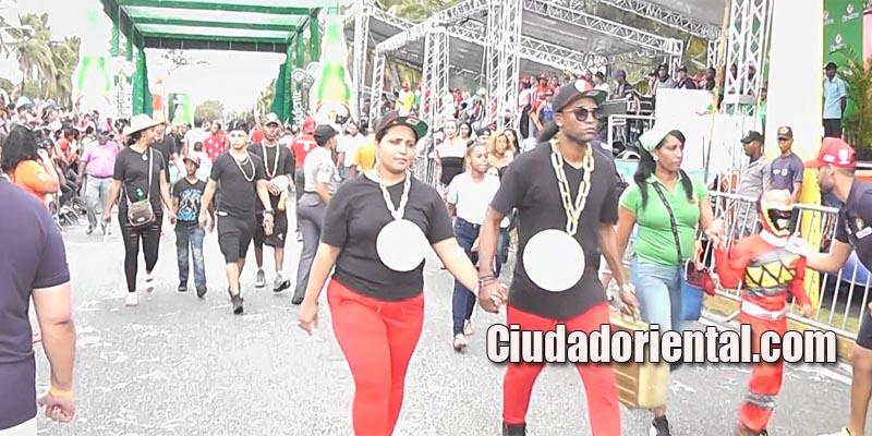 Así protestaron Los Viajeros en el Carnaval de SDE 2017