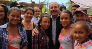 Danilo Medina en Jarabacoa