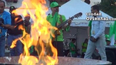 Photo of Vídeo – Manuel Jiménez canta junto al fuego contra la impunidad