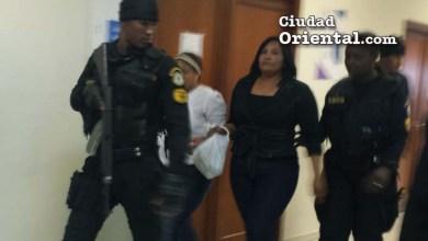 Sanhy Dotel Ramírez (La Patrona), conducida por custodios