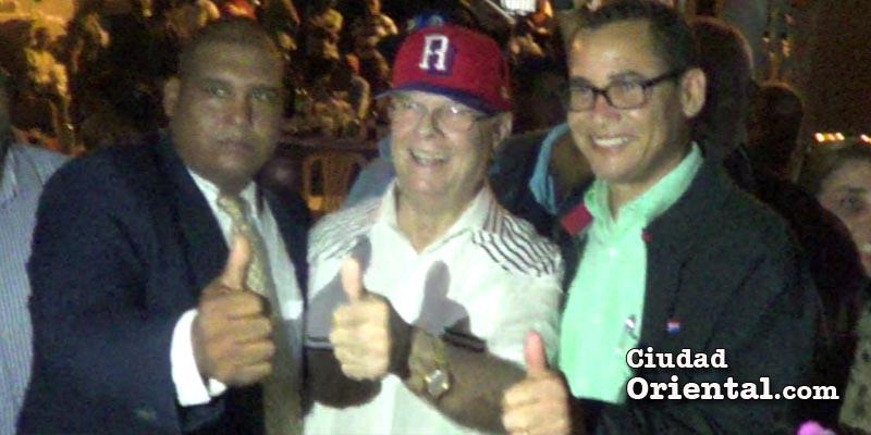 Vídeo - Esto es lo que dice Hipólito Mejía a la versión de que Eddy Olivares sería candidato a Senador