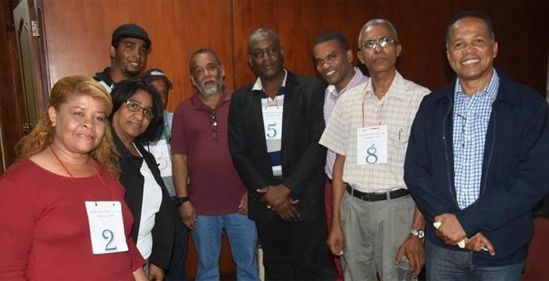 Pre candidatos del Movimiento Marcelino Vega