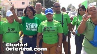 Photo of Vídeos – Delegaciones de Santo Domingo Este estuvieron en la Marcha Verde del Sur