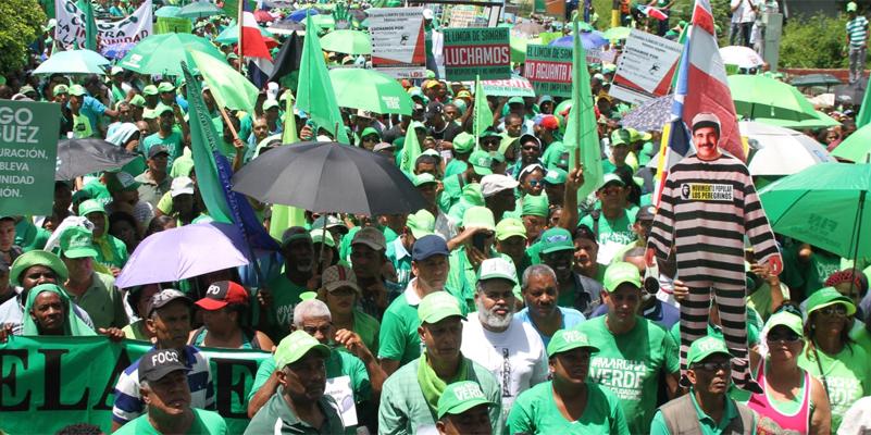 Este domingo la Marcha Verde va a Santo Domingo Este