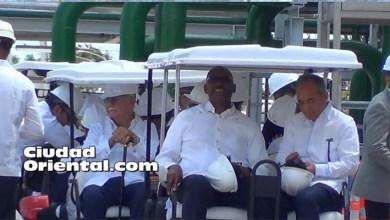 Photo of Vídeo -El Cañero y Bichara dan mal ejemplo en inauguración Planta Los Mina VII