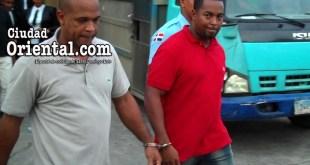 Los dos acusados, al momento de ser llevado antes el juez
