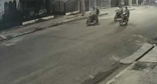 Delincuentes motorizados listos para el ataque