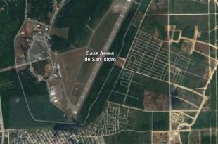 Viusta aérea de la base militar de San Isidro
